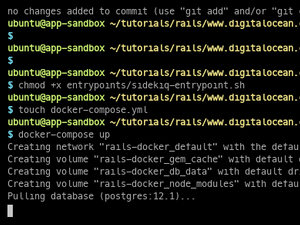 Containerizing A Ruby On Rails Application For Development With Docker Compose