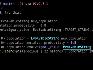 Evolvable String Example
