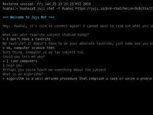 Chat With A Juji Bot