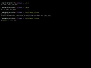 Empty Git Repo