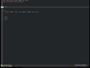 Elm Code Folding